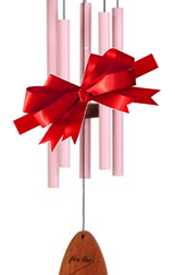 Pink Windchimes for Christmas